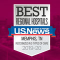 U.S. News & World Report Ranks Methodist Hospitals of Memphis  the Best Hospital in the Memphis Metro Area