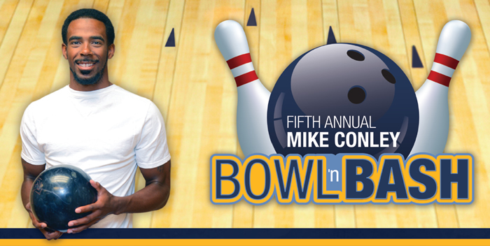Fifth Annual Mike Conley Bowl 'n Bash