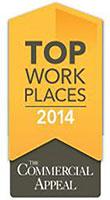 Methodist Healthcare was named among 2014 Top Workplaces
