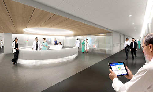 Nurses station Rendering