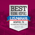 U.S. News and World Report Names Methodist Hospitals of Memphis Best Hospital in the Memphis Metro Area