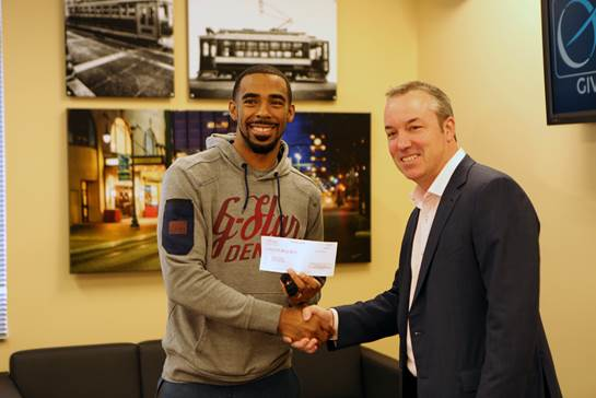 Mike Conley and Daniel Weickendand, Orion Federal Credit Union CEO