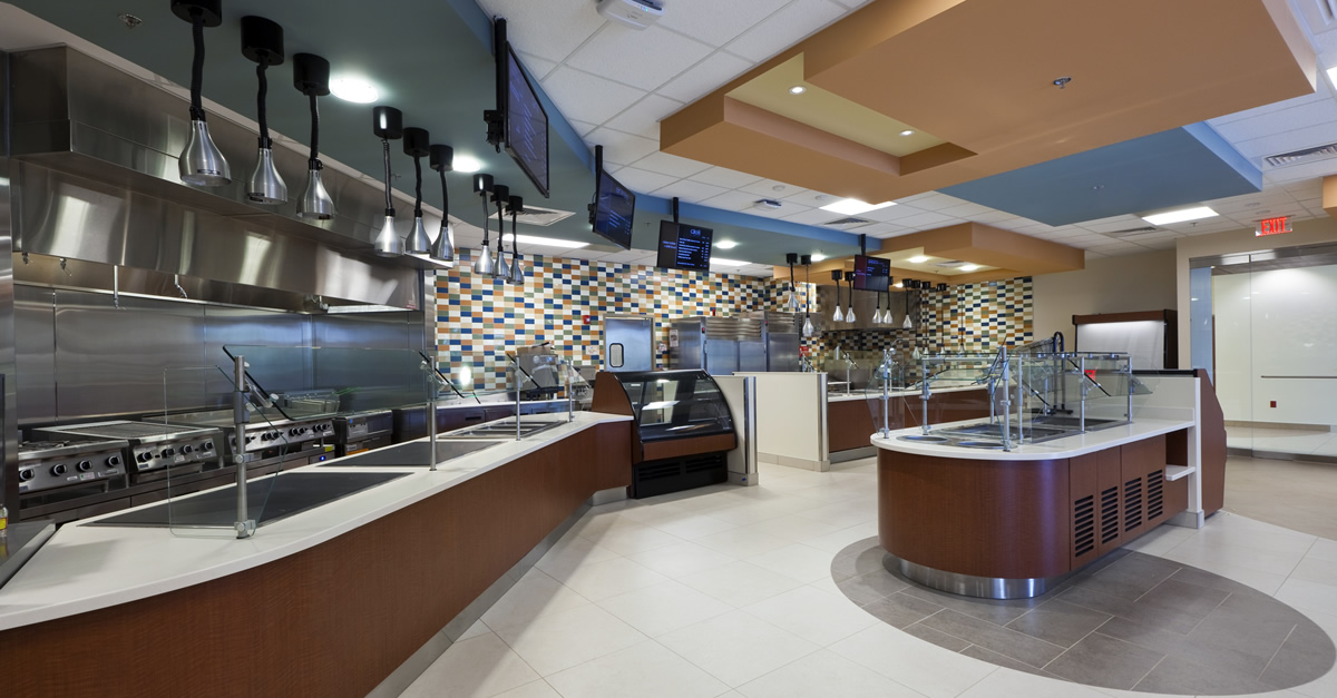 Methodist Olive Branch Hospital cafeteria