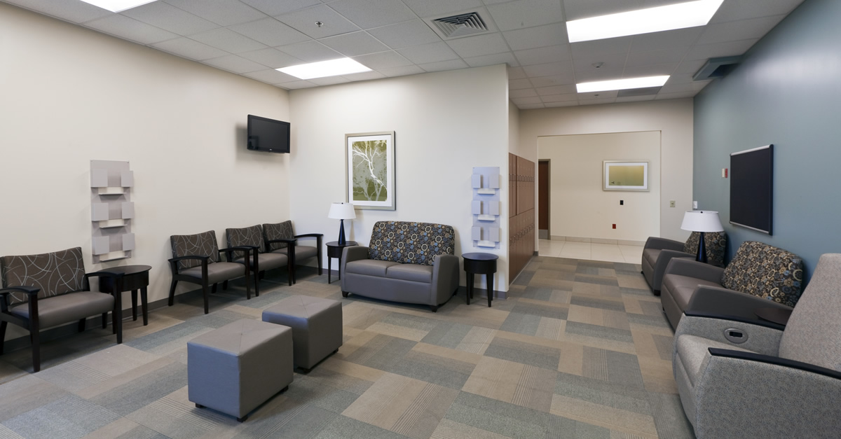 Methodist Olive Branch Hospital critical care family room