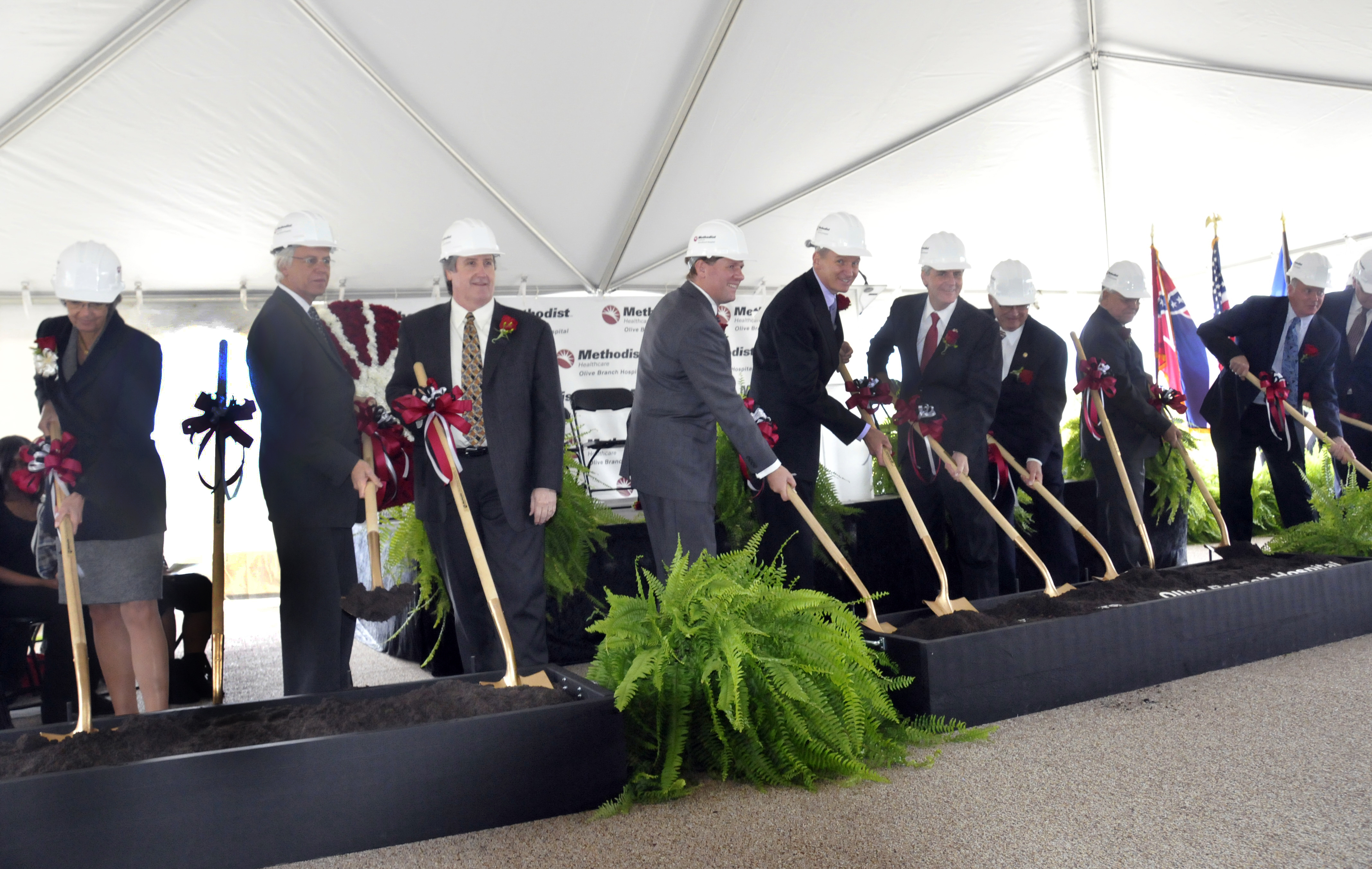 Olive Branch Groundbreaking