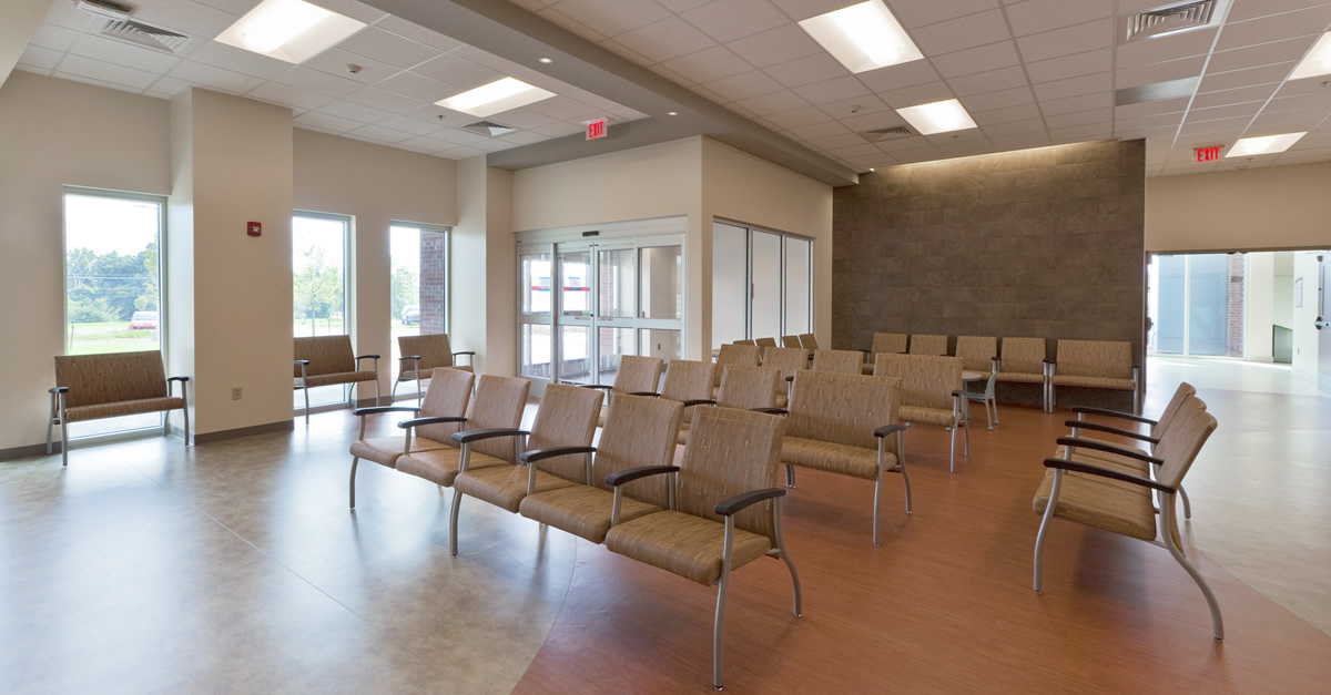 Methodist Olive Branch Hospital ER waiting area