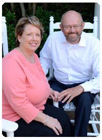 Debbie Jones and Rev. Rick Kirchoff
