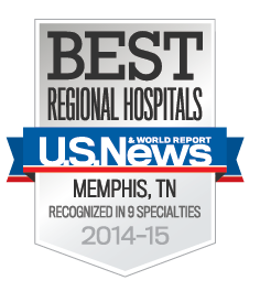 Methodist Healthcare - US News & World Report Best Regional Hospitals 2013-2014