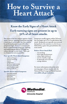 How to Survive a Heart Attack